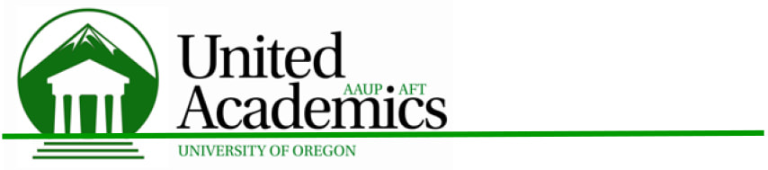 dear faculty at the university of pittsburgh as president of our aaup chapter and faculty union at the university of oregon i wish to congratulate you on